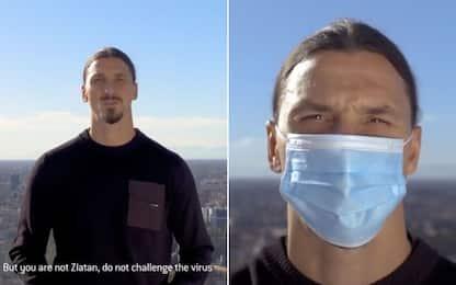 """Ibra: """"Non siete Zlatan, non sfidate il virus"""""""