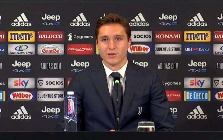Federico Chiesa alla Juve, la conferenza di presentazione. Video | Sky Sport