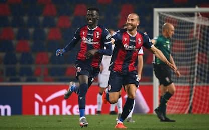 Barrow show, il Bologna ribalta 3-2 il Cagliari