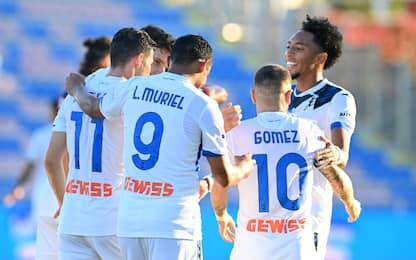 Doppio Muriel, l'Atalanta vince 2-1 a Crotone