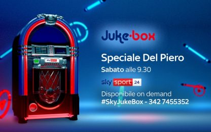 Oggi Alex Del Piero ospite speciale di Juke-Box