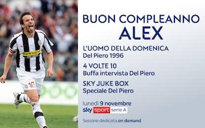 Auguri Alex! La programmazione su Sky Sport