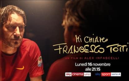 """Il film """"Mi chiamo Francesco Totti"""" arriva su Sky"""