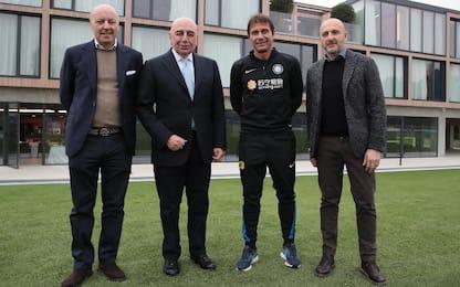 """Galliani: """"Ibra un totem, volevo Conte al Milan"""""""