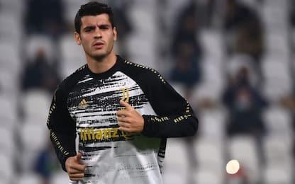 """Morata: """"Felice alla Juve, mai questa continuità"""""""