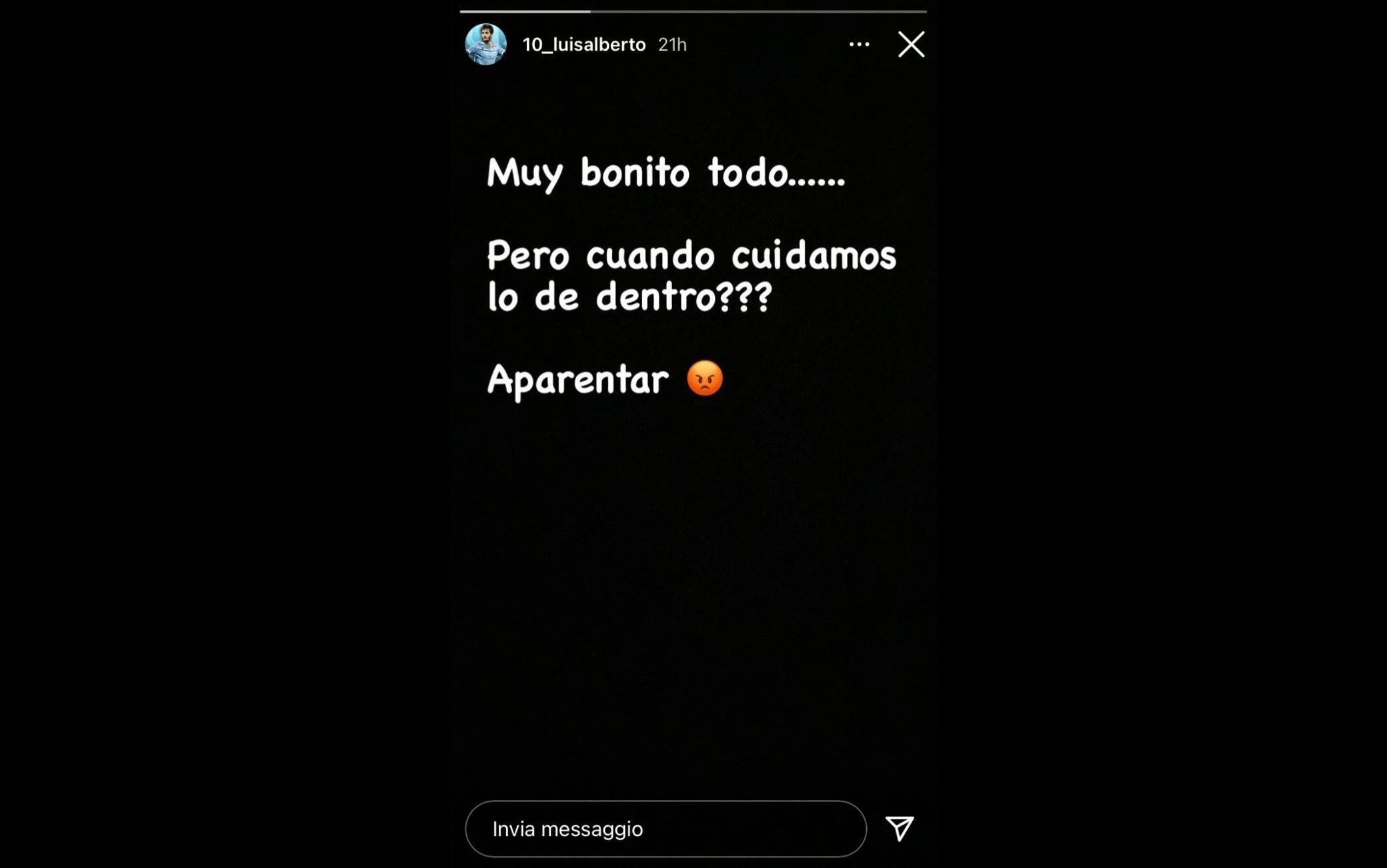 Luis Alberto Instagram