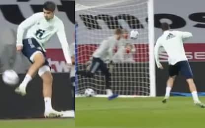 Triplo Morata, il gol di tacco è pazzesco. VIDEO