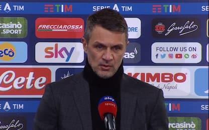 """Maldini: """"Non ho paura a parlare di scudetto"""""""