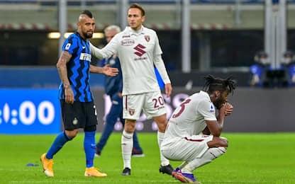 Punti persi da vantaggio, Torino peggiore d'Europa