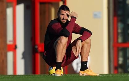 Milan senza Ibra: pochi gol dai vice e meno punti