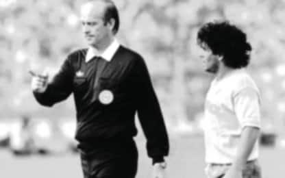 "Casarin: ""Maradona non aveva bisogno dei rigori"""