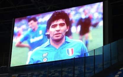 La Serie A ricorda Maradona: tutte le iniziative