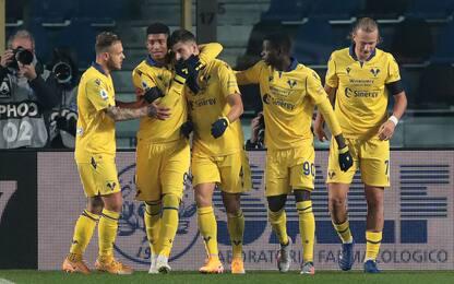 Veloso-Zaccagni, il Verona stende l'Atalanta 2-0