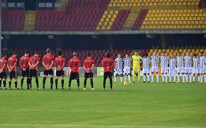 Benevento-Juve 0-1 LIVE: gran gol di Morata