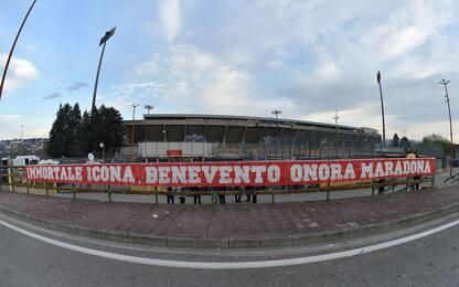 Benevento-Juve LIVE: Bonucci in panchina