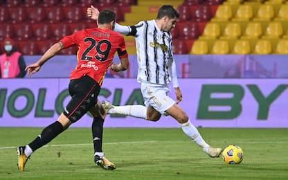 Benevento-Juve 0-1 LIVE: occasioni Dybala e Ramsey