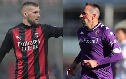 Milan-Fiorentina, le probabili formazioni