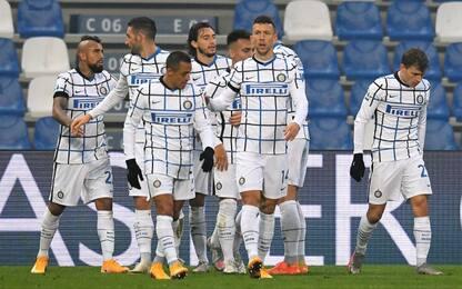 L'Inter si rialza: 3-0 al Sassuolo e 2° posto
