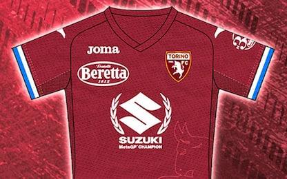 Torino, maglia speciale per celebrare la Suzuki