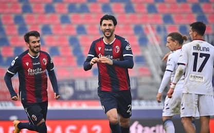 Bologna, basta Soriano: Crotone battuto 1-0