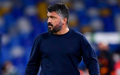 """Gattuso: """"Piangiamo Diego, ma con la mascherina"""""""
