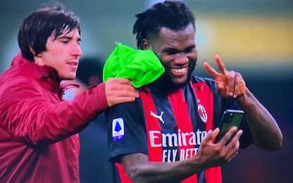 Milan, videochiamata a Pioli dopo la vittoria