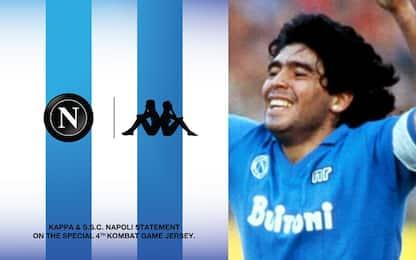 Napoli all'Argentina, maglia speciale per Maradona