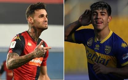 Genoa-Parma, Maran punta su Scamacca: le probabili