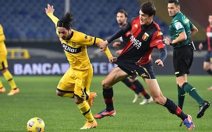 Genoa-Parma 0-1 LIVE: Scamacca si divora il pari