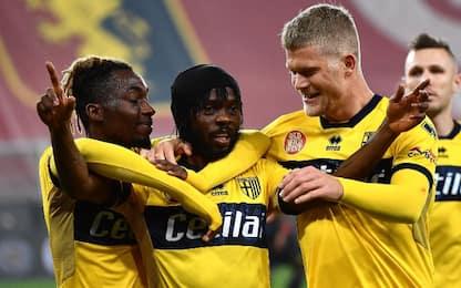 Doppio Gervinho, il Parma inguaia il Genoa