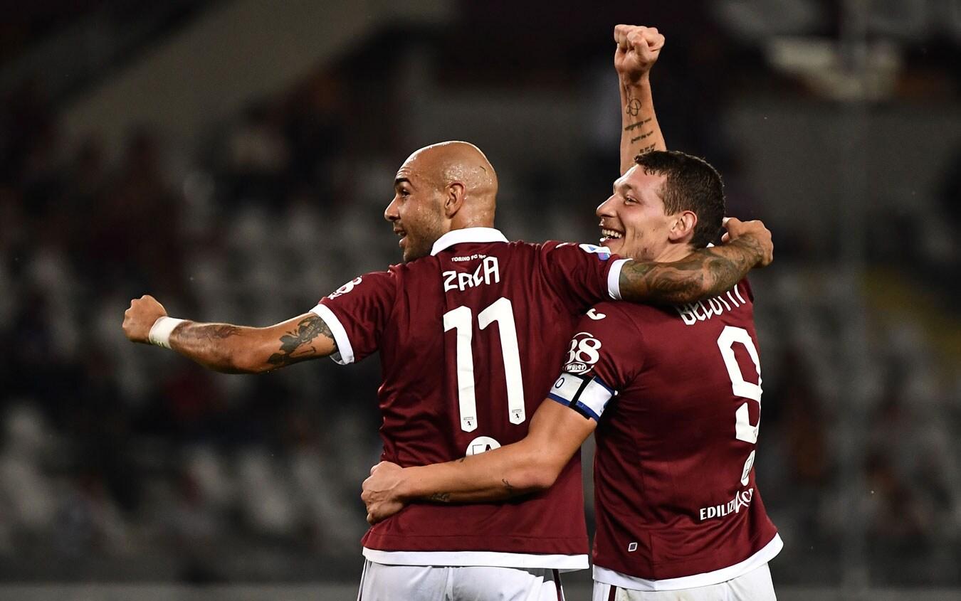 Le probabili formazioni di Torino-Sampdoria