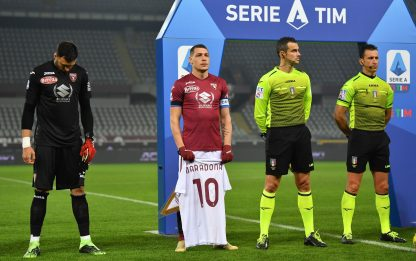 Torino-Samp 0-0 LIVE: gol annullato a Belotti