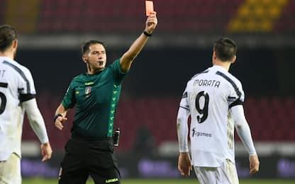 Morata squalificato 2 giornate: salta Toro e Genoa