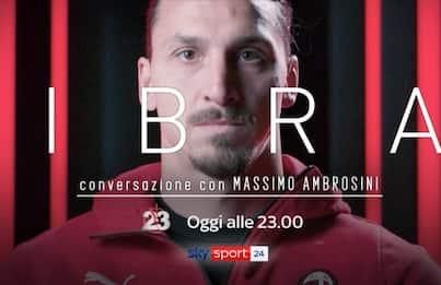 """Ibra, conversazione con Ambrosini: seguilo a """"23"""""""