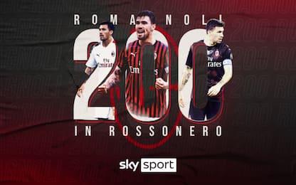 Romagnoli racconta le sue 200 in rossonero