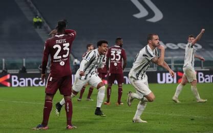 McKennie-Bonucci, rimonta Juve nel derby: 2-1