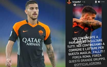 """Pellegrini ai tifosi: """"Voi insultate... falliti"""""""