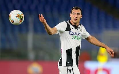 Udinese, rottura del crociato sinistro per Jajalo