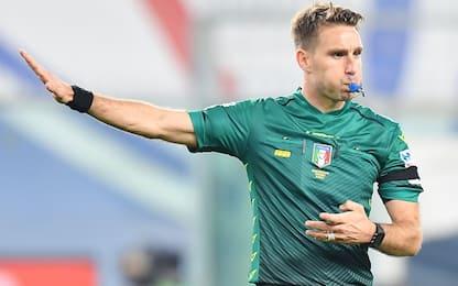 Milan-Parma a Fourneau, Di Bello per Genoa-Juve