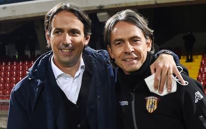 """F. Inzaghi: """"Di solito esulto ai gol della Lazio"""""""