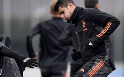 Provino ok per Morata: convocato per Juve-Sassuolo