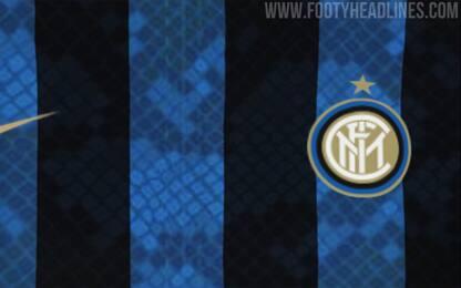 """Inter a """"pelle di serpente"""": così la nuova maglia?"""