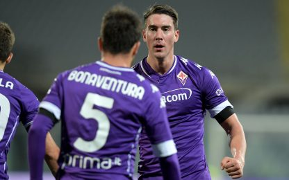 Fiorentina-Crotone 1-0 LIVE: gol di Bonaventura