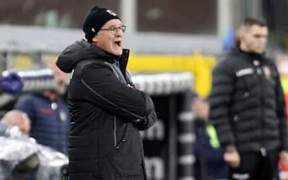 """Ranieri: """"Quagliarella non può giocare sempre"""""""