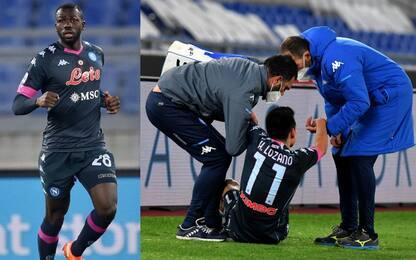Gattuso perde Koulibaly e Lozano: tornano nel 2021