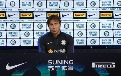 """Conte: """"Facciamo l'Inter per finire opera d'arte"""""""