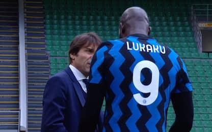 Inter, contrattura alla coscia destra per Lukaku