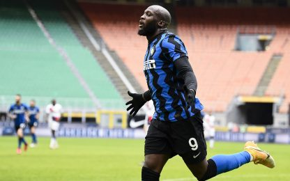 50 gol in 70 gare: Lukaku meglio anche di Ronnie