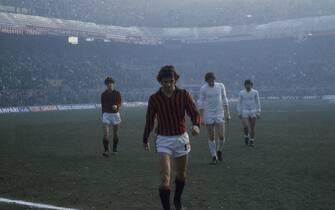 ©Ravezzani / LaPressearchivio storicoanno 1978-1979 sport calcioStefano Chiodinella foto: il calciatore del Milan Stefano Chiodi