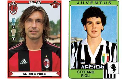 Milan-Juve, i doppi ex degli ultimi 50 anni